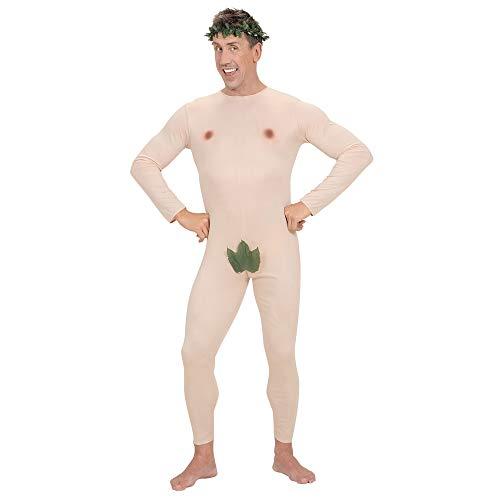 Mens Adam & Eve Jumpsuit & Headpiece Costume Medium For Tv Adverts -