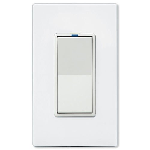PCS PulseWorx UPB LED/CFL Dimmer Wall Switch, 600W, White (WS1DL-6-W)