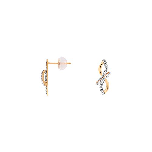 CLEOR Boucles d'oreilles CLEOR Or 375/1000 Oxyde Femme