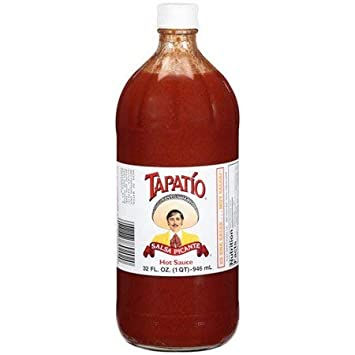 Tapatio Salsa Picante Hot Sauce, 32 Fl Oz (Pack Of 4)