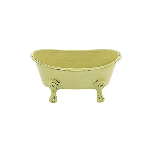 - Mini Yellow Bathtub Soap Dish