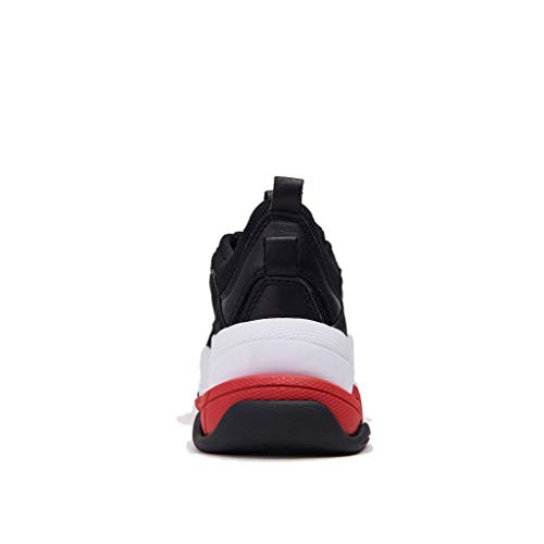 Campbell E Sneaker Gomma Carenata Bicolore Camoscio Tessuto In Tecnico Nero Con Jeffrey Jef40jc101anero Para IndSq5zIZ