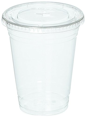 Dart Solo TP16-626TS-100 Disposable-Crystal-Plastic, 16 Ounce