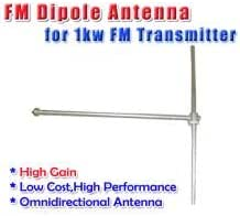 FM antena dipolo 2 GOWE bahía profesional Transmisor FM 50 W ...