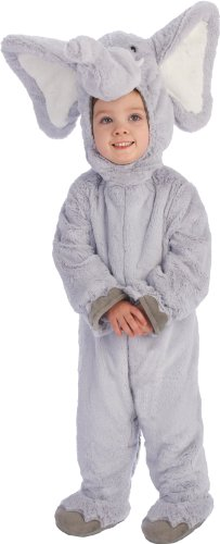Just Pretend Kids Elephant Animal Costume, Large (Elephant Kids Costume)
