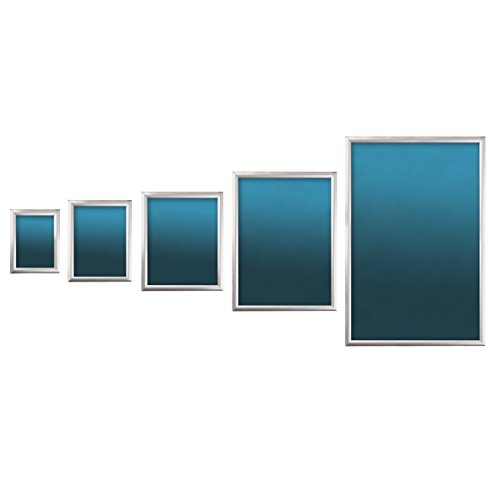 SECO Front Load Easy Open Snap Frame Poster/Picture Frame 24 x 36 Inches, Silver Metal Frame (SN2436-SV) by Unknown (Image #4)