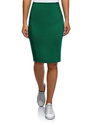 oodji Ultra Women's Jersey Pencil Skirt
