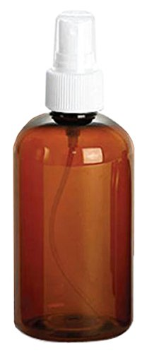 Amber plastic Empty Spray Bottle