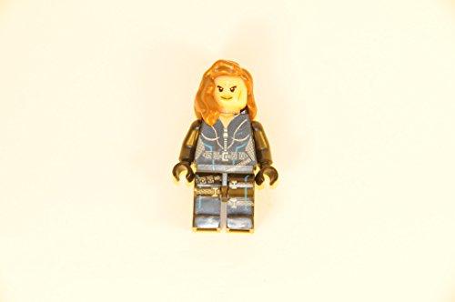 Black Widow Minifigure Marvel Super Heroes Lego Compatible