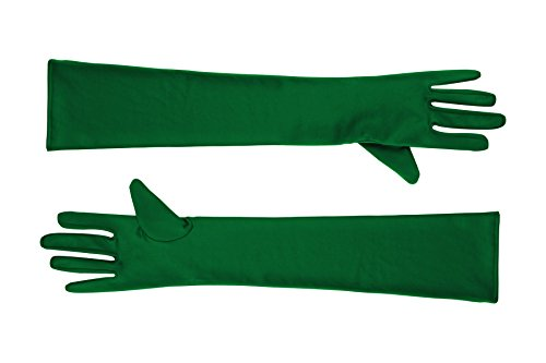 Sheface Spandex Elbow Length Long Gloves Costume Accessory