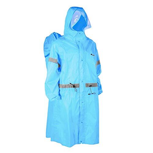 de Ponchos penchant sac couverture plein air imperméables bleu randonneur soleil pluie ciel pour poncho nique cycliste de le dos pique à Ljourney couvert activités camping imperméable de couverture XqXS4zrOw