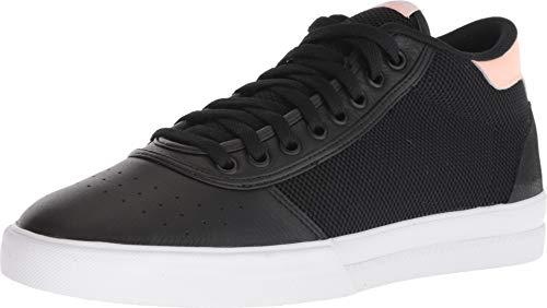 adidas Skateboarding Men's Lucas Premiere Mid Black/White/Haze Coral 12.5 D US
