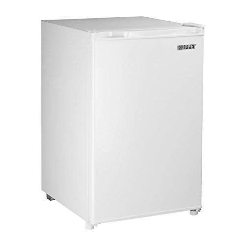 Kuppet-Mini Refrigerator Compact Refrigerator for Dorm, Garage, Camper, Basement or Office (White, 3.2 Cu.Ft.)
