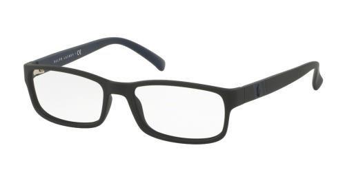 Amazon.com: Polo PH2154 Eyeglass Frames 5284-54 - Matte Black PH2154 ...