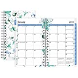 Blue Sky(TM) Weekly/Monthly Planner, 3 5/8in. x 6 1/8in., 50% Recycled, Lindley, January to December 2018