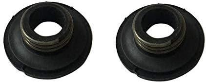 2 caracol para bomba de aceite compatible con Husqvarna 340 345 346XP 350 353 359 445 450 450E motosierra, sustituye a 5039318-01