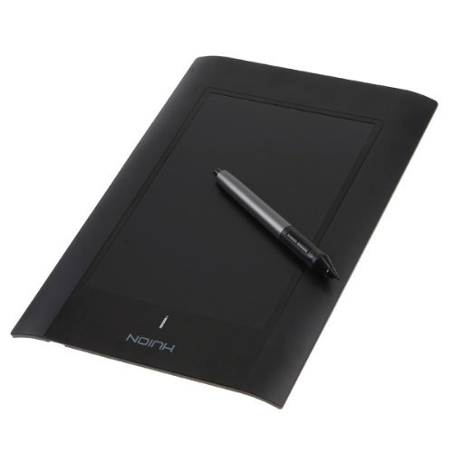 Docooler 10'' Art Graphics Drawing Tablet Cordless Digital Pen for PC Laptop Computer (Black)