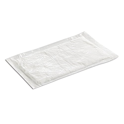 SafePro UZ50, 4x7-Inch White Ultra Dri-Lock 50 Grams Meat Pads, Absorbent Meat Fish and Poultry Foam Tray Pads (1000)