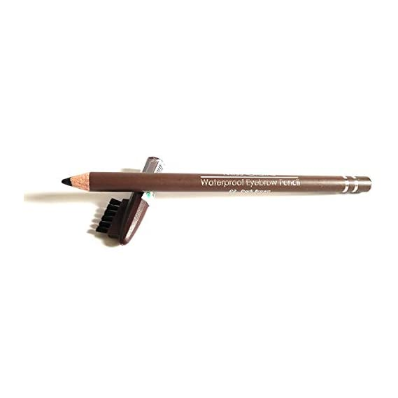 Miss Claire Waterproof Eyebrow Pencil, 02 Dark Brown