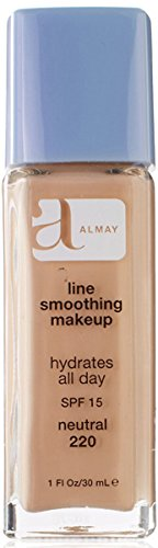 Almay Line Smoothing Makeup with SPF 15, Neutral 220, 1 oz.