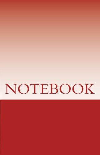 Download NOTEBOOK - Dark Red Colour ebook