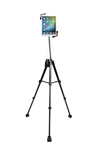 CTA Digital Rolling Portable Tripod Stand for 7-13