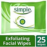 Simple Kind to Skin Exfoliating Facial Wipes 25...