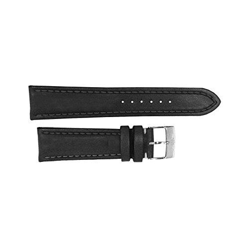 Breitling 24/20Mm Black Leather Strap 478X 24/20 Blklt