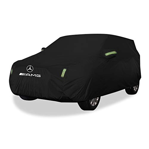 Car Cover Mercedes-Benz GLE 43 4MATIC AMG Special Car Cover Car Clothing Thick Oxford Cloth Sun Protection Rain Cover Car Cloth Car Cover (Size : Oxford Cloth - Built-in lint)