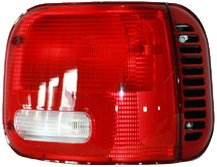 TYC 11-5347-01 Dodge Van Passenger Side Replacement Tail Light -