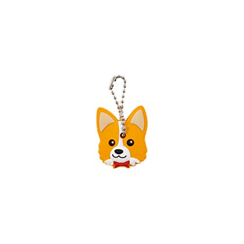 (Nayo The Corgi special soft rubber key holder)