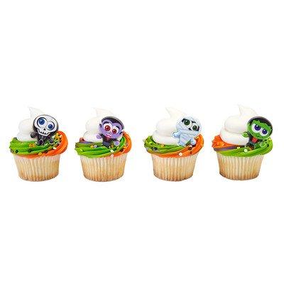 24 ct. Classic Monster Halloween Cupcake Rings