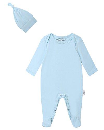 Solid Footed Sleeper Pajamas - 4