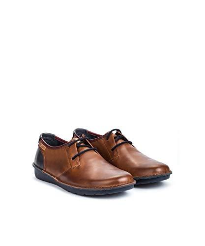 M7b Cuero Pikolinos Zapatos Santiago Derby Para Cordones De i18 Hombre g5qUxO5