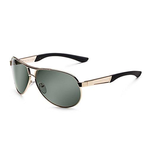 para Hombre de Espejo 5 Gafas Polarizer para Sol de Hombres Sol de DT Color Espejo Gafas Conducción qPBp7wtxw5