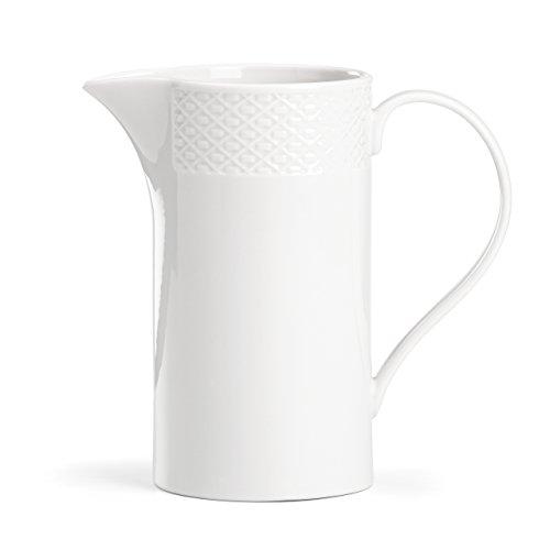 (Lenox Entertain 365 Surface Medium Pitcher, White)
