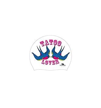 Turbo Gorro Natación Silicona TATOO LOVER Silicone Cap