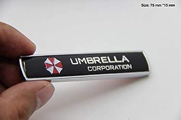 B276 Ein Stk Umbrella Emblem Biohazard Badge Auto Aufkleber 3d Abzeichen Car Sticker Auto