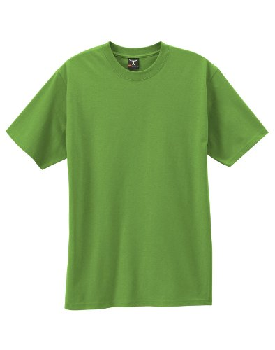 Hanes Men`s Beefy-T Adult Short-Sleeve T-Shirt,5180,S,Pear Green,5180,S