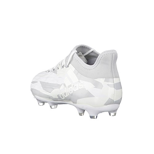 Bota de fútbol adidas X 16.2 FG Clear grey-White-Core black Clear grey-White-Core black