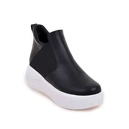 Noir Noir EU 36 5 AN Compensées Sandales Femme DGU00669 WXIqP