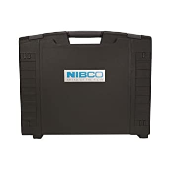 nibco case Pc-280 3-jaw press tool 2 batteries 120v charger and case  case: application  nibco® press system® tools pc-100.