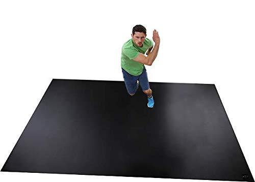 (Square36 Extra Large Exercise Mat, 8 x 6-Feet)