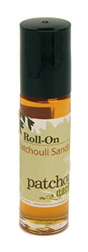 Patchouli Garden - Patchouli Sandalwood Perfume Roll-on - Sandalwood Patchouli