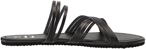 Billabong Women's Sandy Toes Flat Sandal Black Zn3Su7K