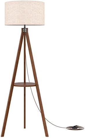 LEPOWER Shelf Tripod Floor Lamp