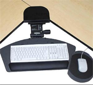 Corner Keyboard Tray - Premium Corner Keyboard Tray