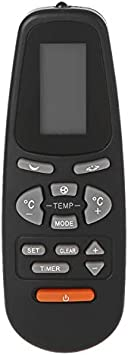 RC-5 Air conditioner Remote Control for YORK Airwell Emailair Electra Elco Aux