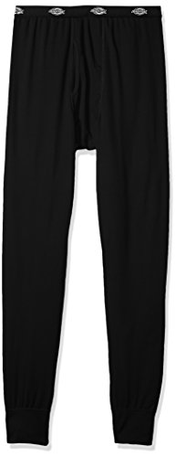 Dickies Men's Big and Tall Tech Mesh Baselayer Thermal Pant, Black, Large