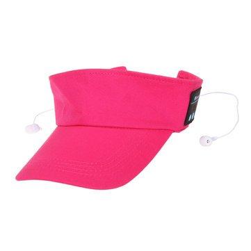 Outdoor Wireless Smart Music Speaker Headphone Hands Free Bluetooth for Smartphone - Fitness Wellness Smart Fitness Abs - (Red) -
